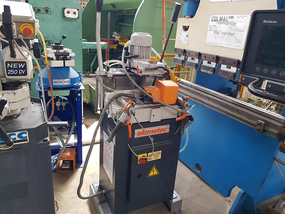 Fraiseuse à copier aluminium ELUMATEC AS70/44