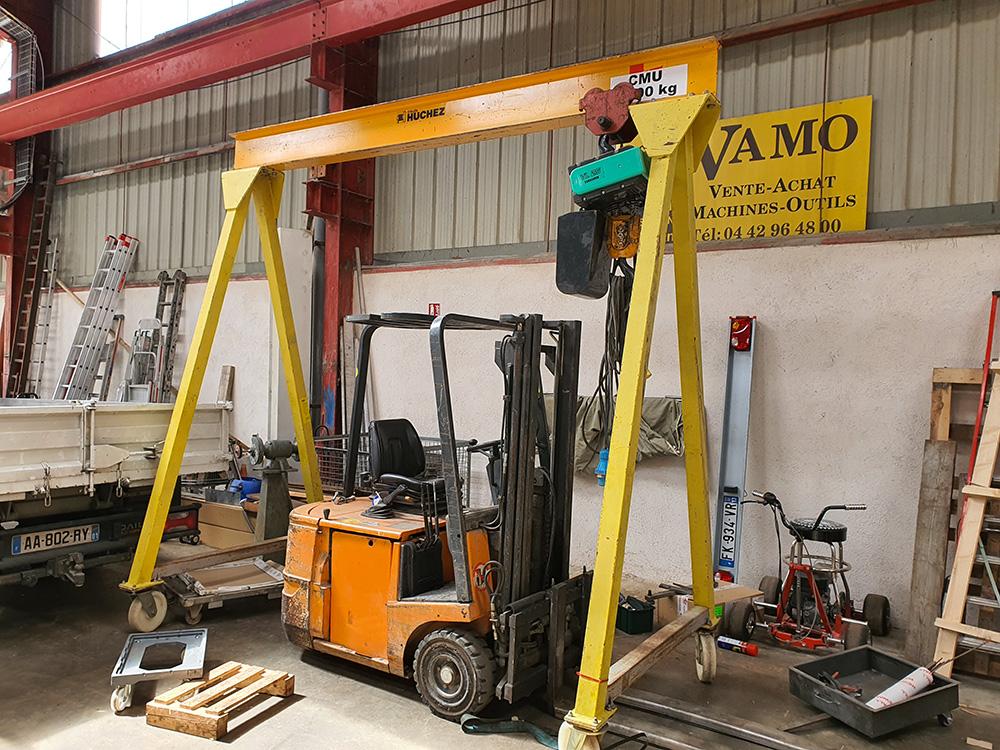 Portique 3000 x 3000 mm capacité 1000 kg