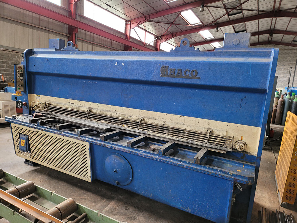 Cisaille guillotine HACO HSL3010