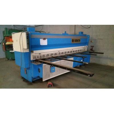 Cisaille guillotine HACO HSLX 3008