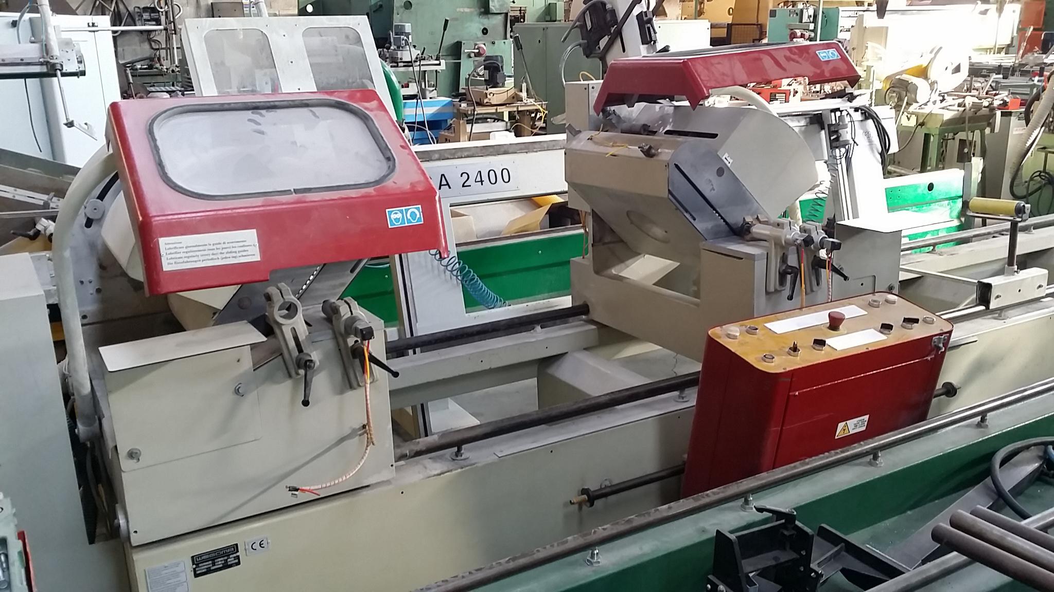 Tronçonneuse double têtes aluminium WEGOMA DS 150 M
