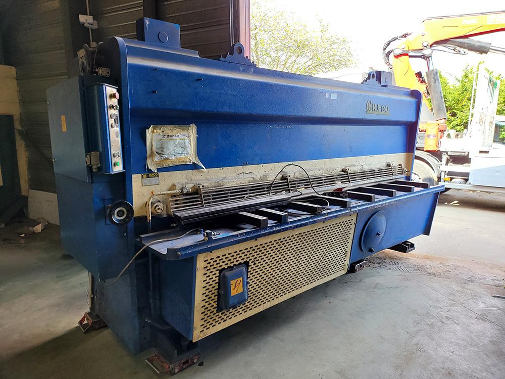 Acquistion de trois machines outils à Chevannes