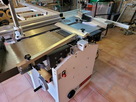 Installation of a LUREM C300 / 5 wood combination with trainer