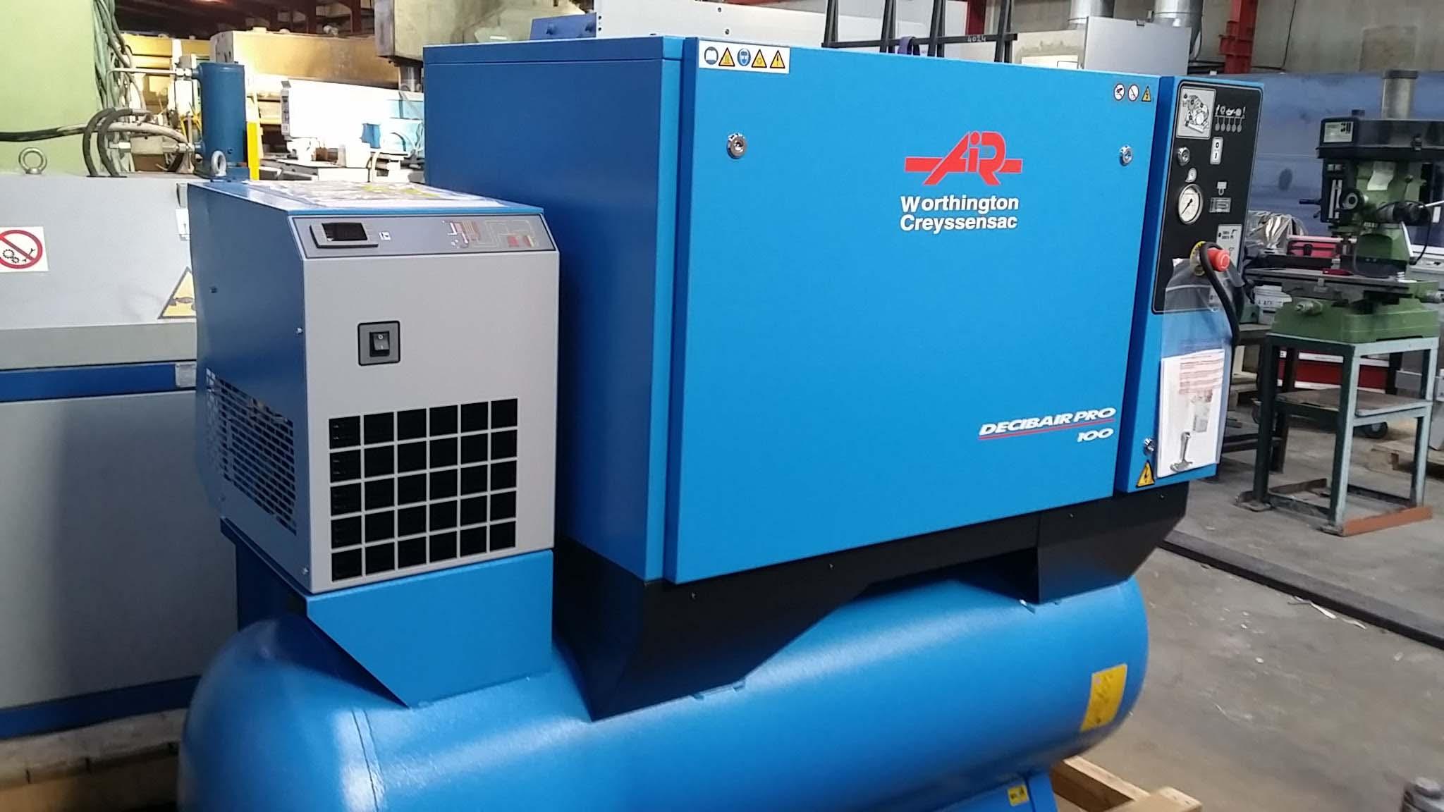Compresseur CREYSSENSAC SNX PRO 10500 T DD
