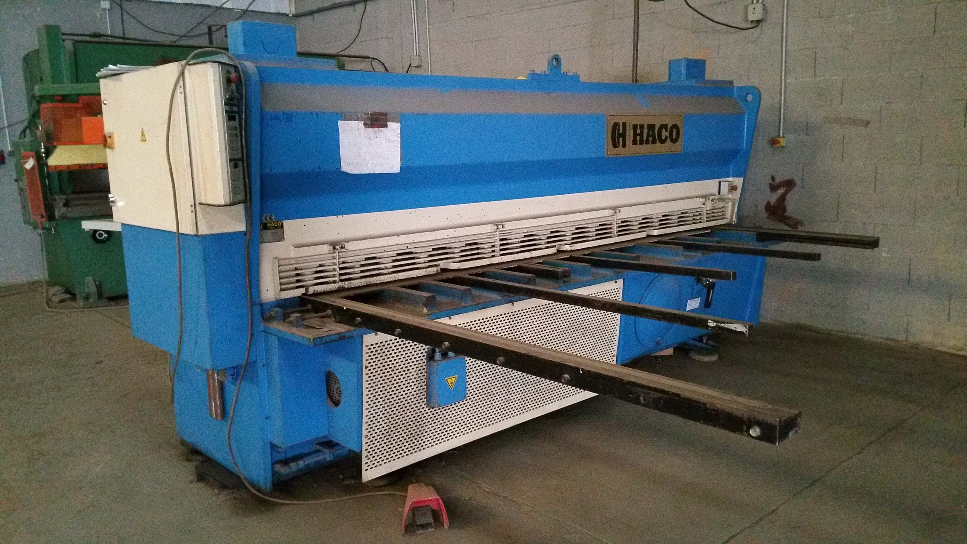 Cisaille guillotine occasion HACO HSLX3008